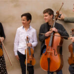 Photo of the Gully Line String Quartet